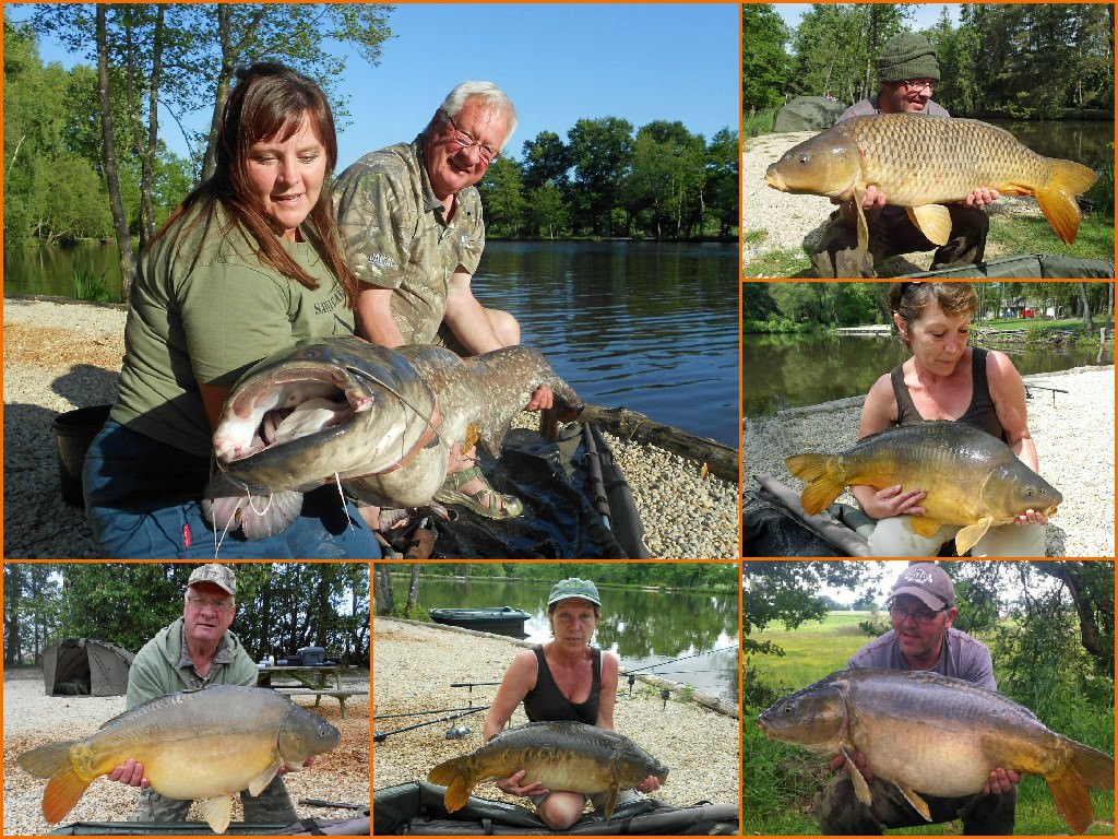 Beausoleil 2015 carp and cat fishing highlights for Fishing in france