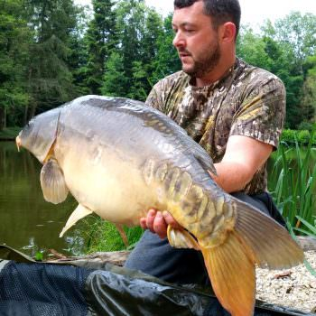 Dean with the Big Apple at 28lbs