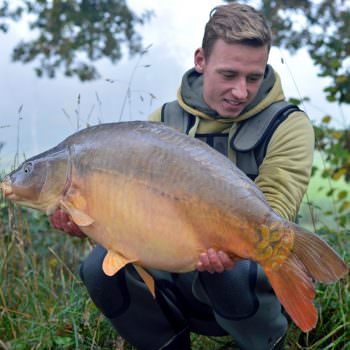 Neils with Dink at 37lbs mirror carp