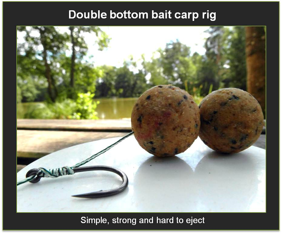 best inline carp rig with bottom baits