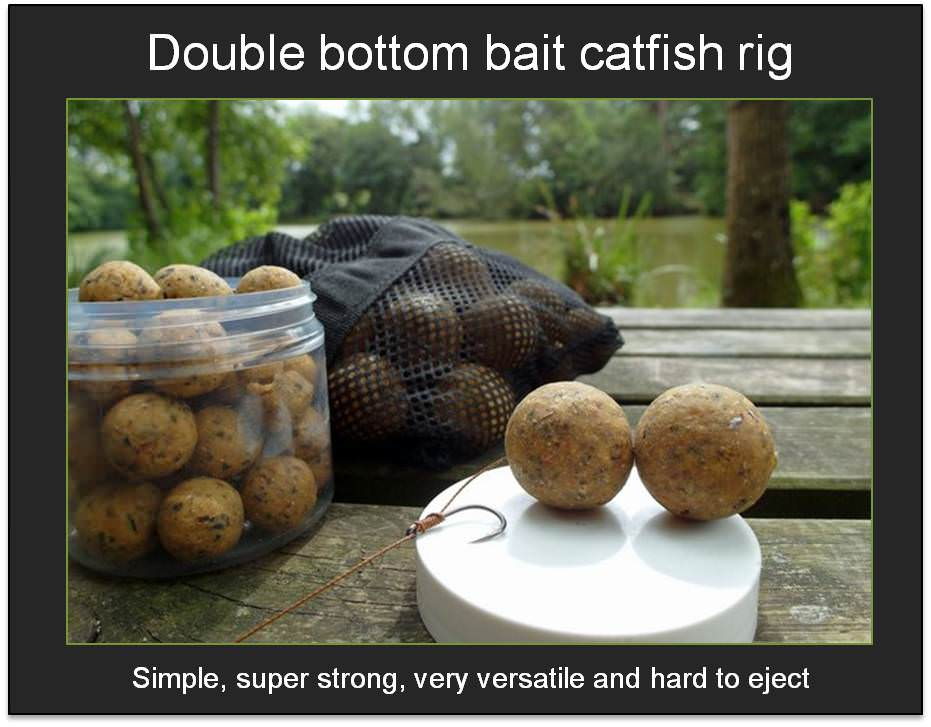 catfish rig for lakes with two bottom baits