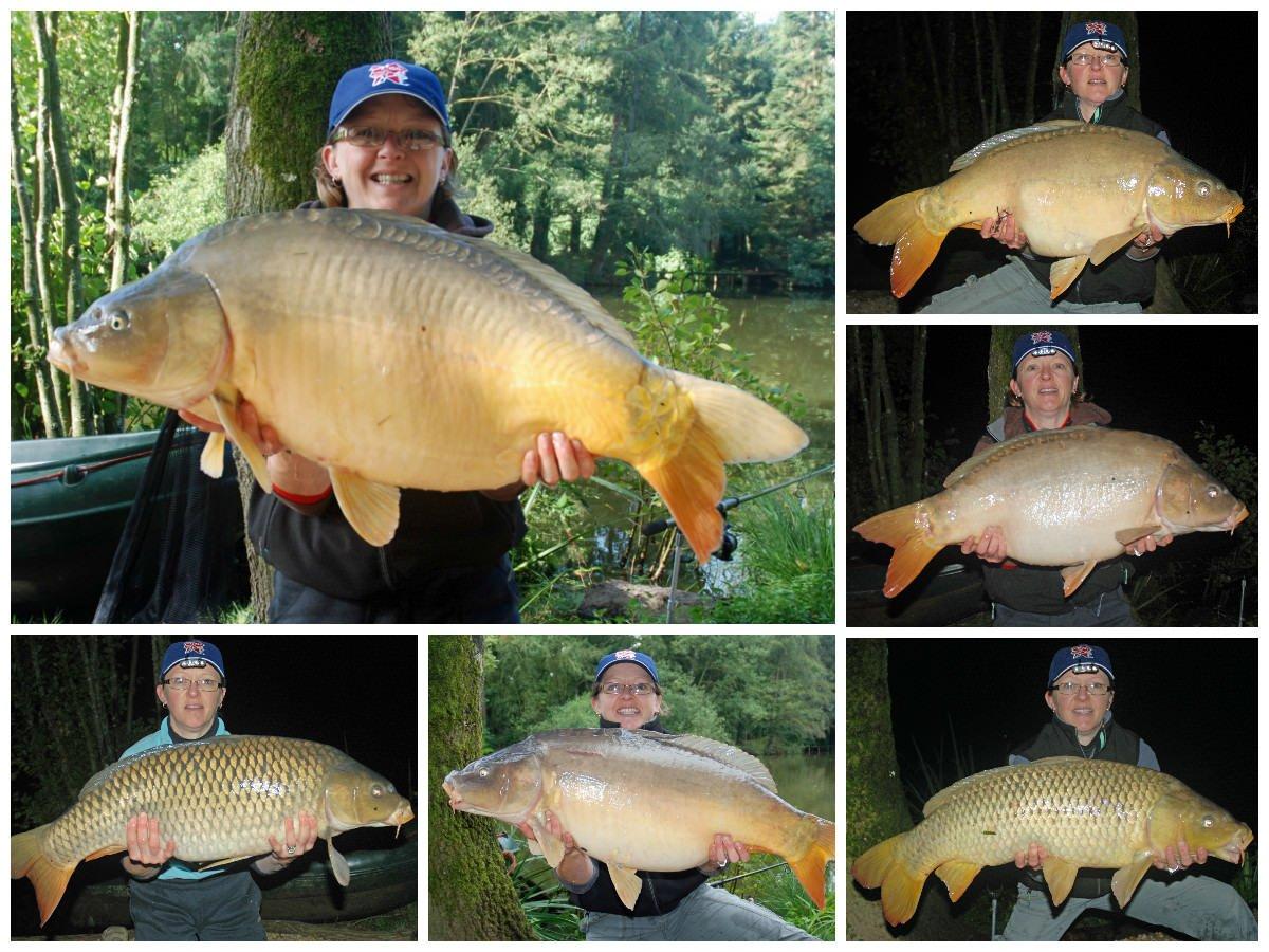 lady-carp-fishing-north-france-summer