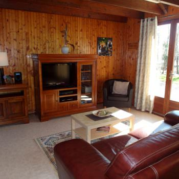 lounge of the accommodation at french carp lake