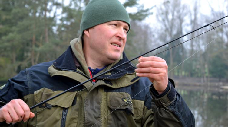 Inspect your carp line for cuts and damage