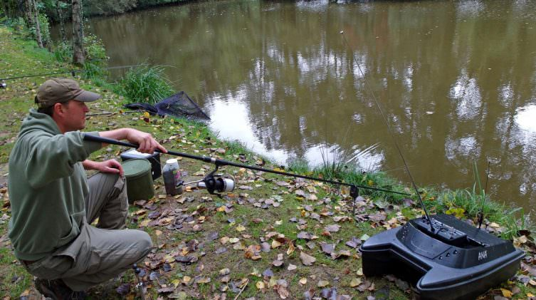 Sinking your line when carp fishing