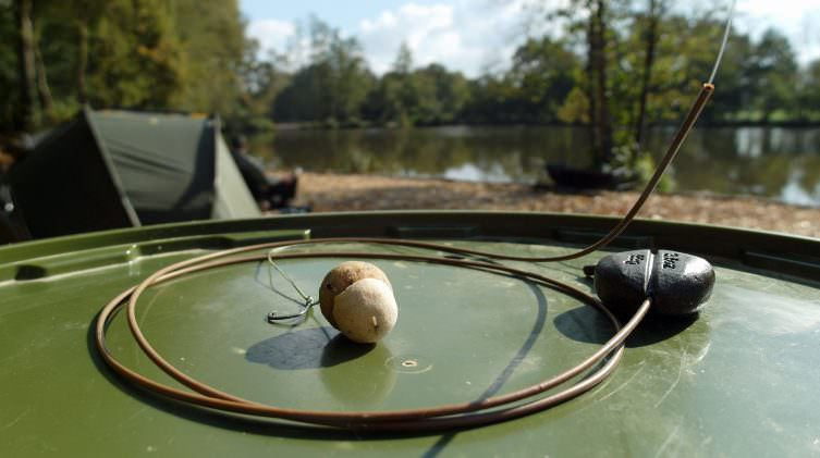 rig tubing for carp fishing