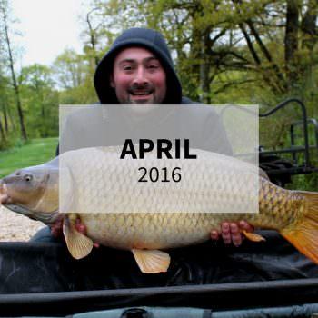 april 2016 carp fishing in france