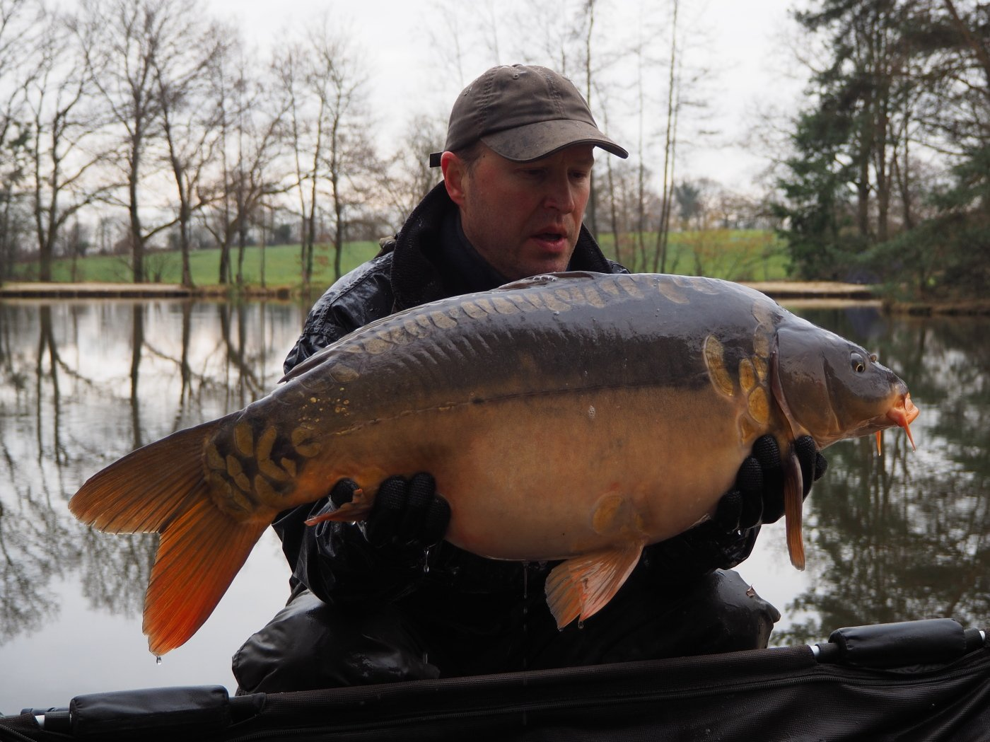 New mirror carp of 29lbs