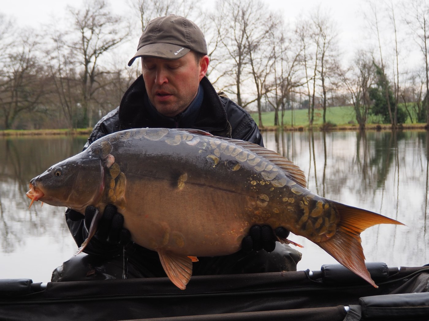 New 29lbs 8oz mirror carp