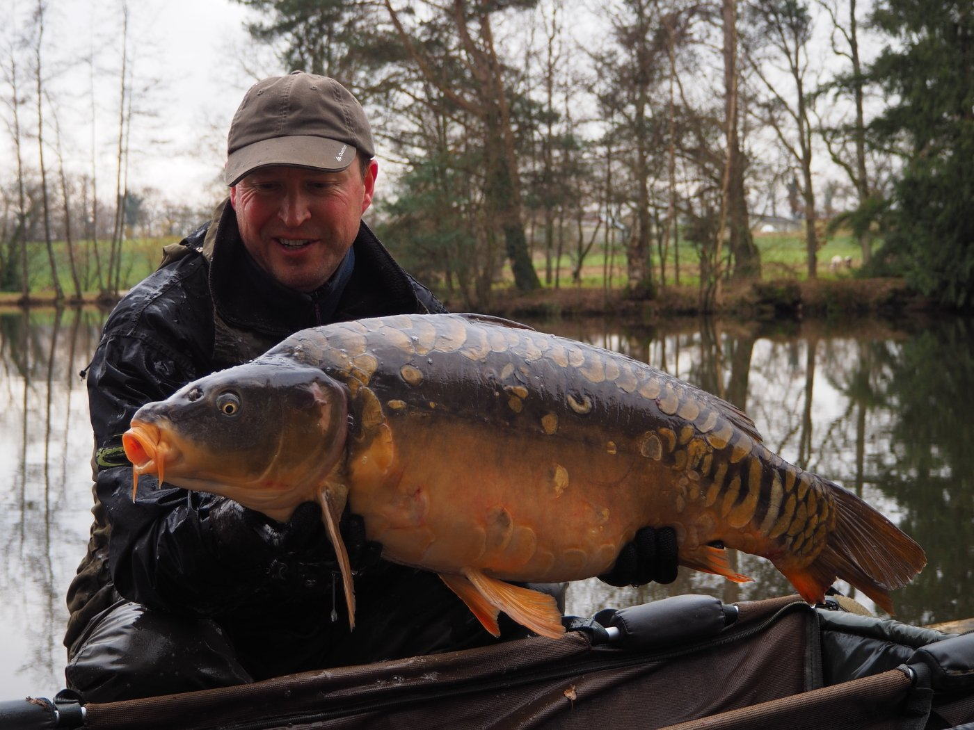 The Duchess a mirror carp of 34lbs 2oz