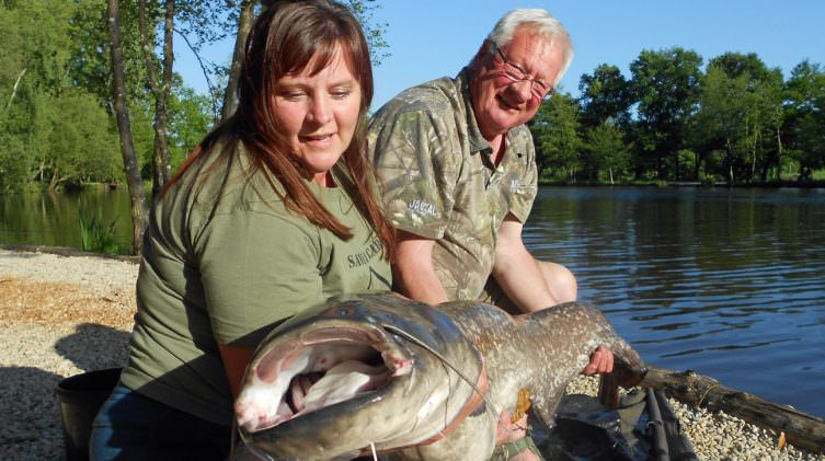 Claire-with-a-74lb-catfish