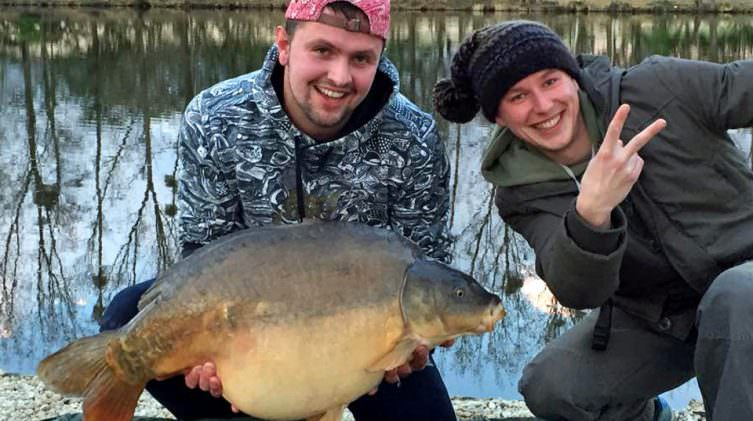 Laurens with Shorty at 36lbs