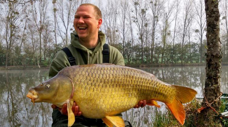 Pepe at 38lbs common carp