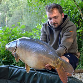 Philip with Moonscale at 31lbs