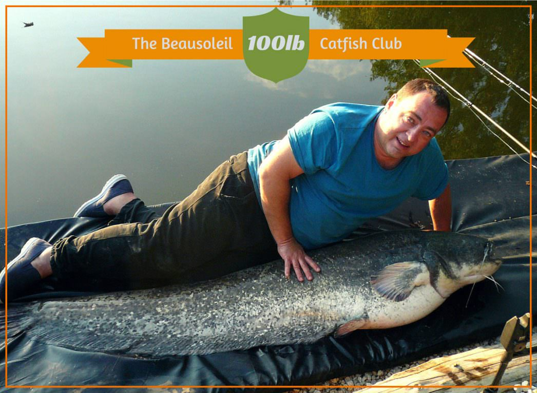 The-Beausoleil-100lb-Catfish-Club with Steve