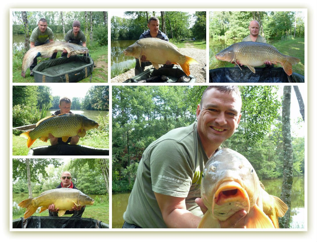 carp fishing in france in august
