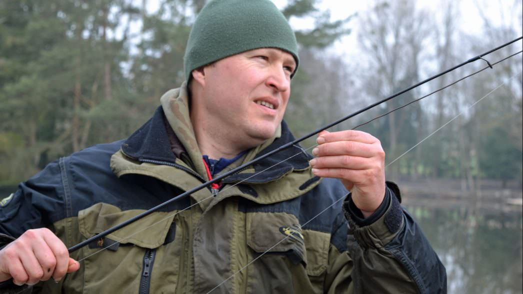 how to check your carp line for damage
