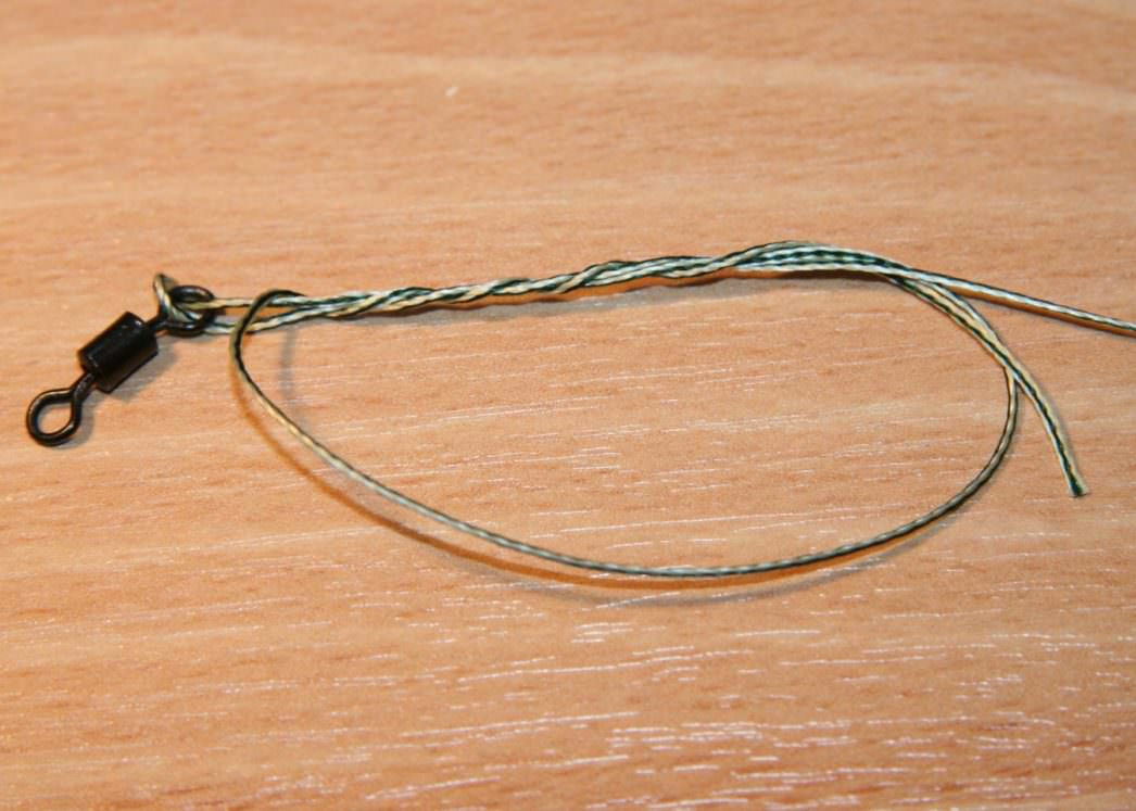 five turn grinner knot before tightening step 3