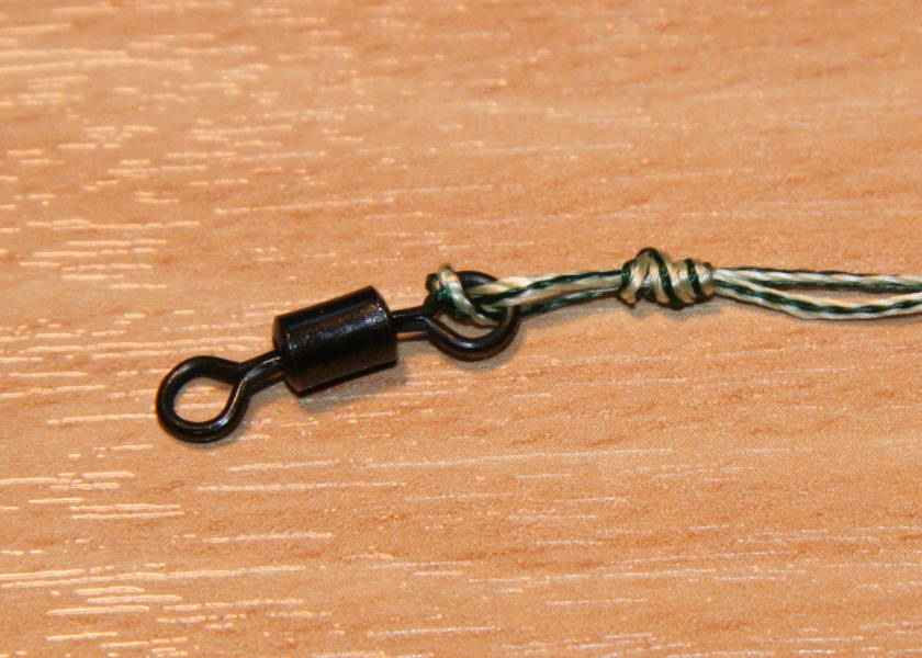 how to tie the grinner knot for carp fishing step 4