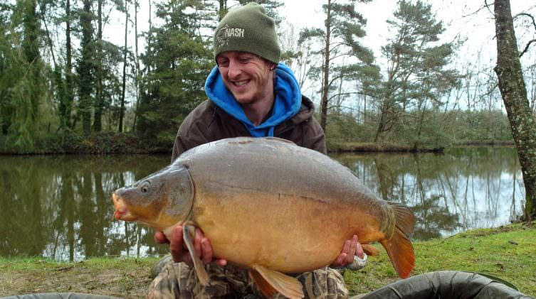 mark with a 27lb mirror
