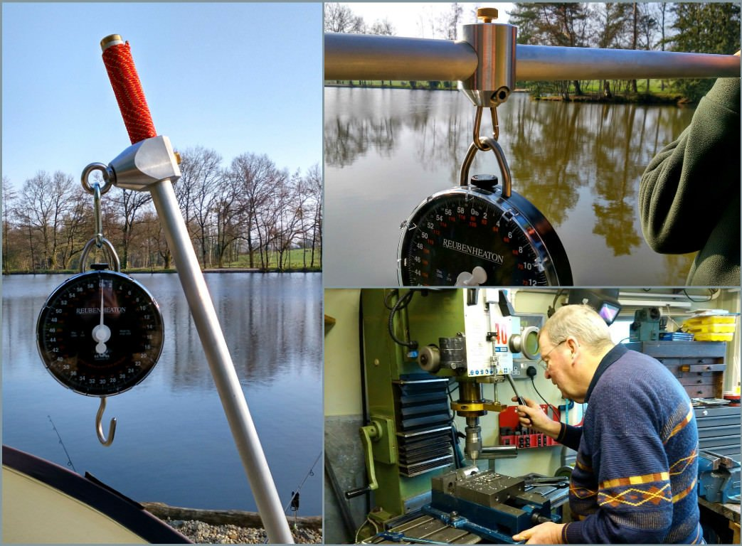 new weighing equipment added to the fishery