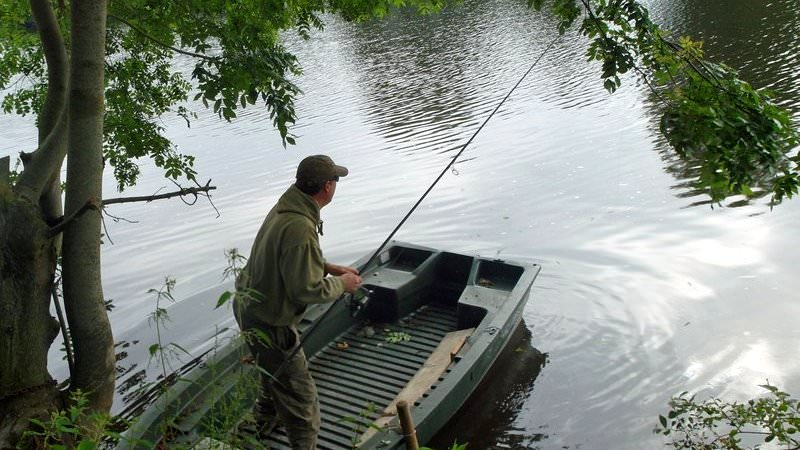 river carping in france