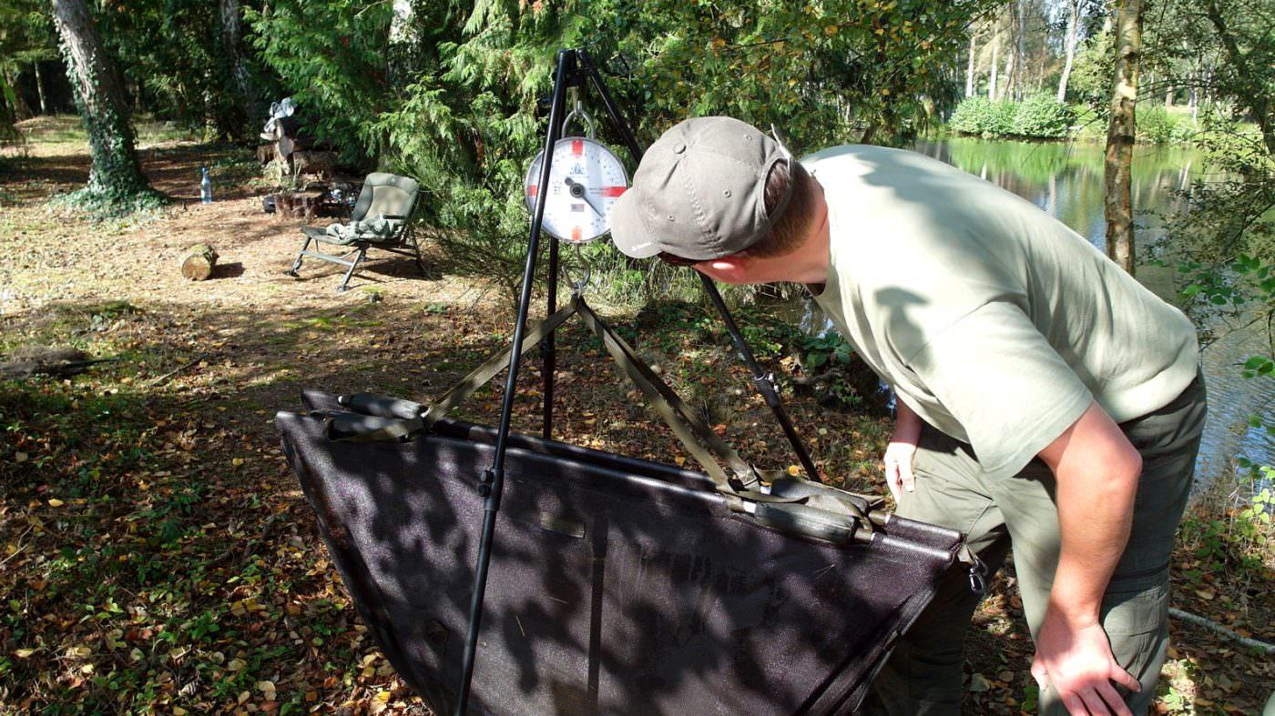 stalking-carp-in the autumn in france
