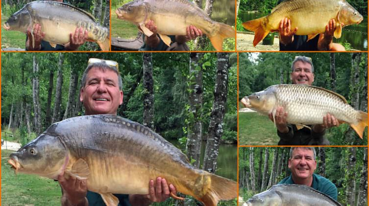 stuart carp fishing in france with accommodation