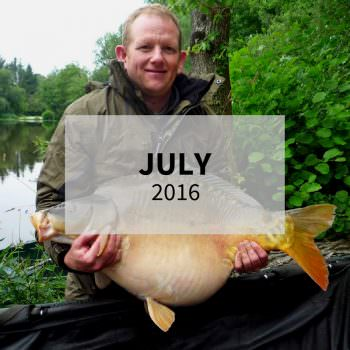 july 2016 carp fishing in france
