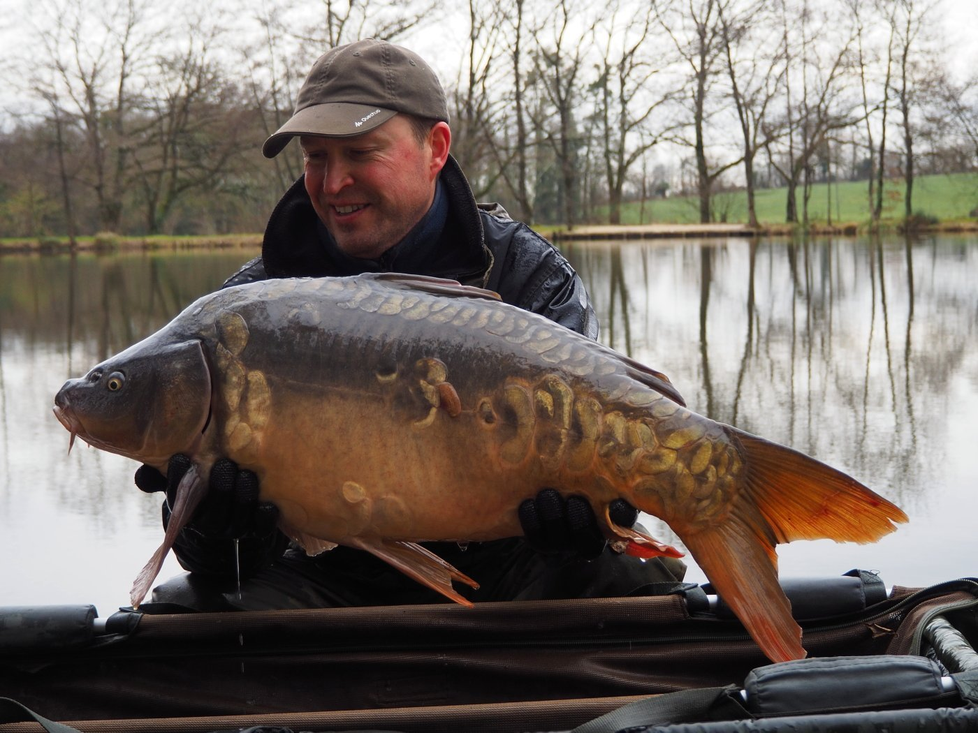 Nugget a mirror carp of 29lbs 4oz