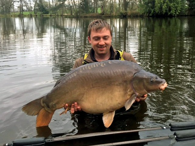 angler in france with largest carp of the week