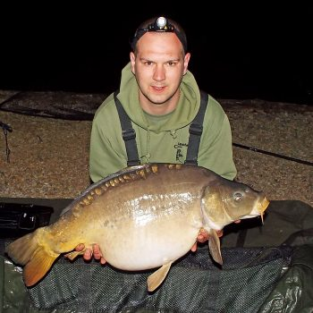 Andy with Domino at 29lbs