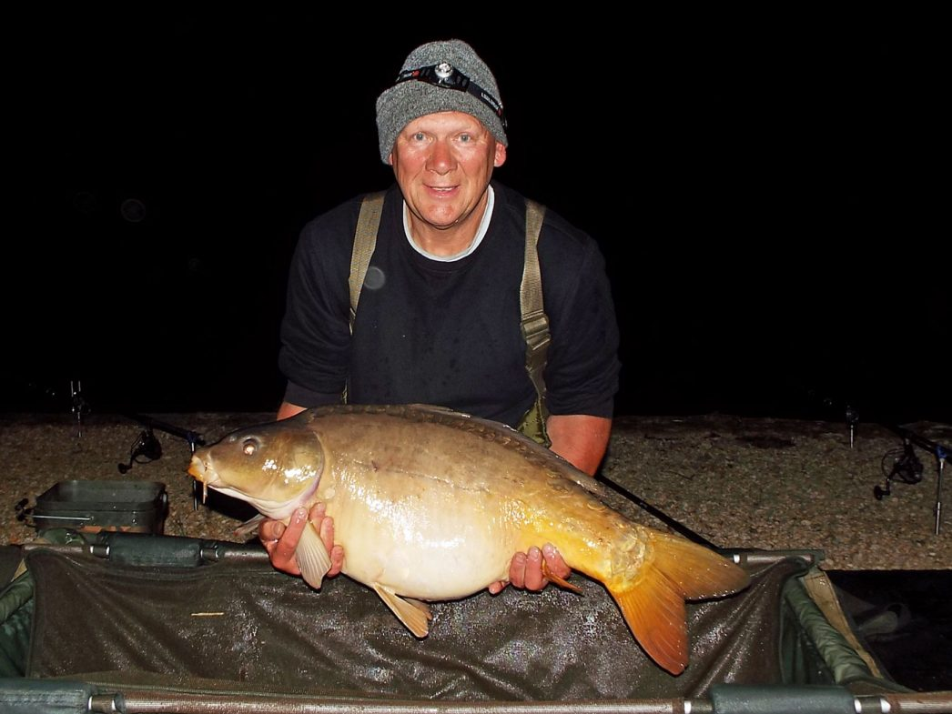 Colin with Cornflake at 32lbs