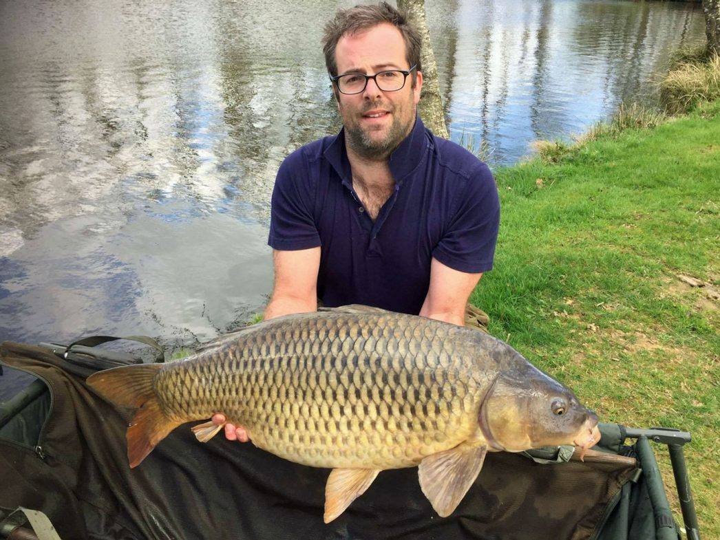 Ed with a 32lbs common