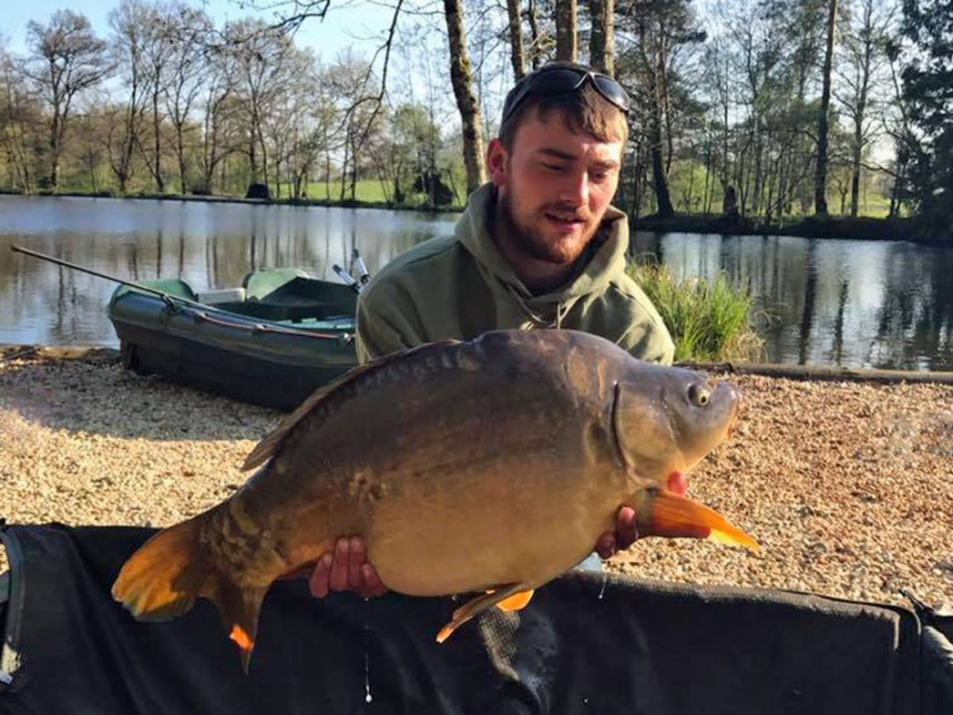 Jamie with Bournvillle at 28lbs