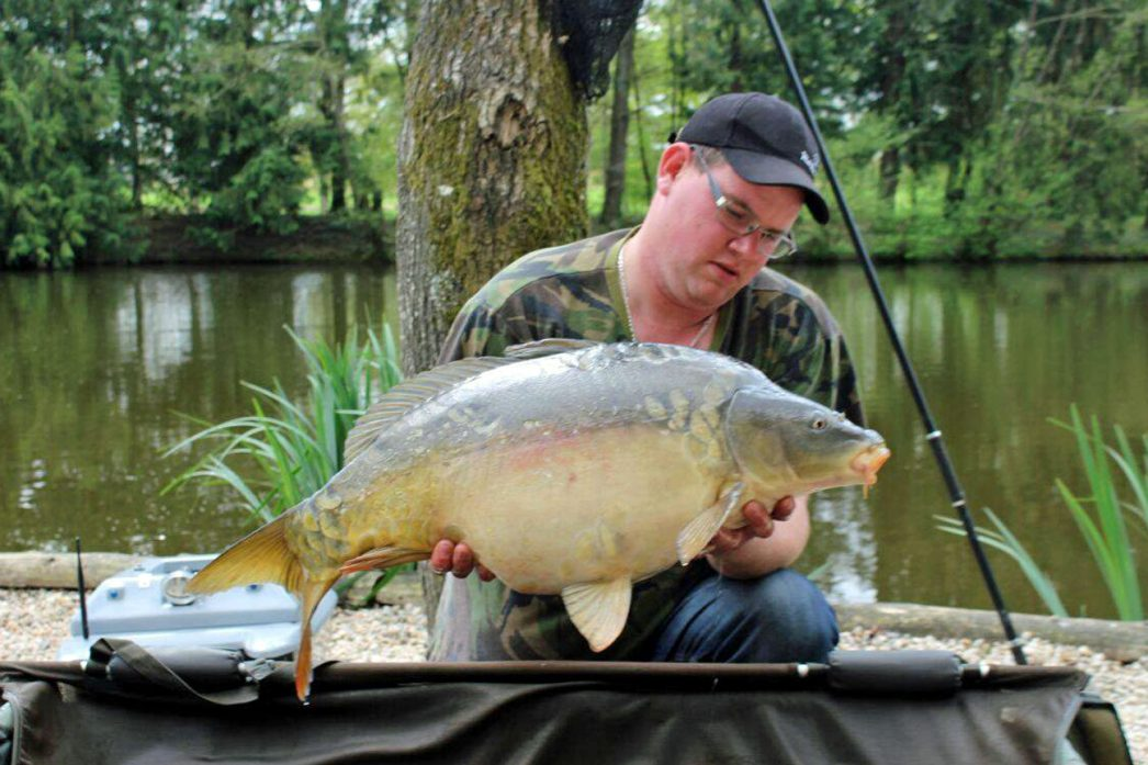 Kevin with Stardust at 26lbs 8oz