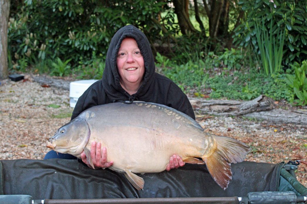 Loes with Horizon at 32lbs 8oz