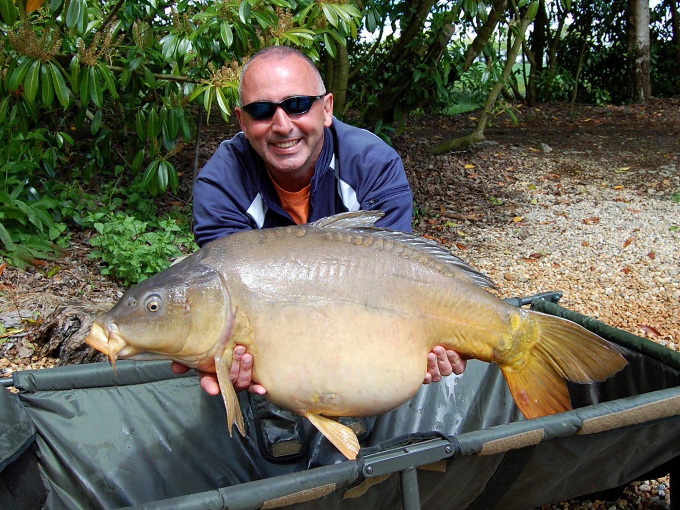 And another 30lbs+ for Alan, here with Fan Tail at 33lbs 12oz