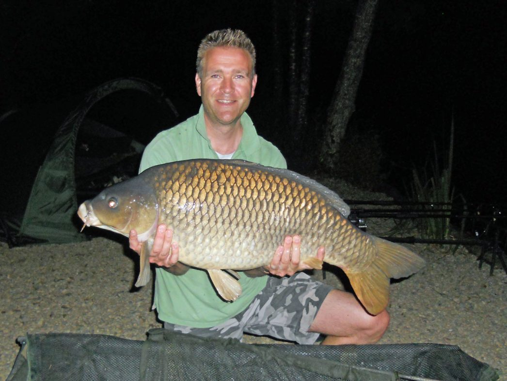 Darren with a 28lbs 8oz common
