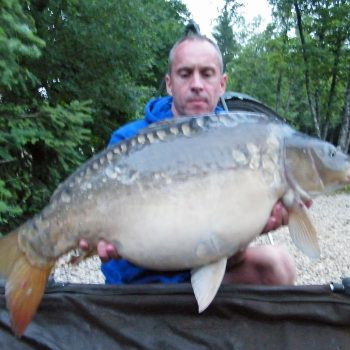 Maurice with Stardust at 26lbs