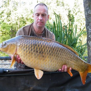 Maurice with a 25lb common carp
