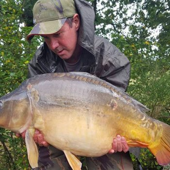 Andy with Cluster at 25lbs