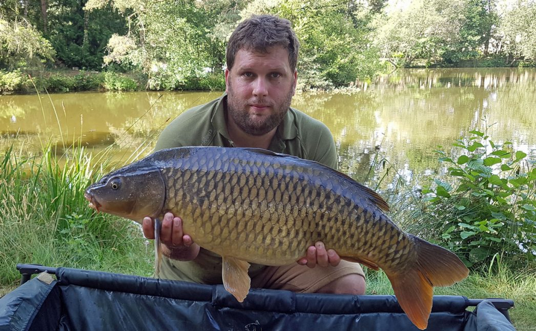 Jay with a 26lb common