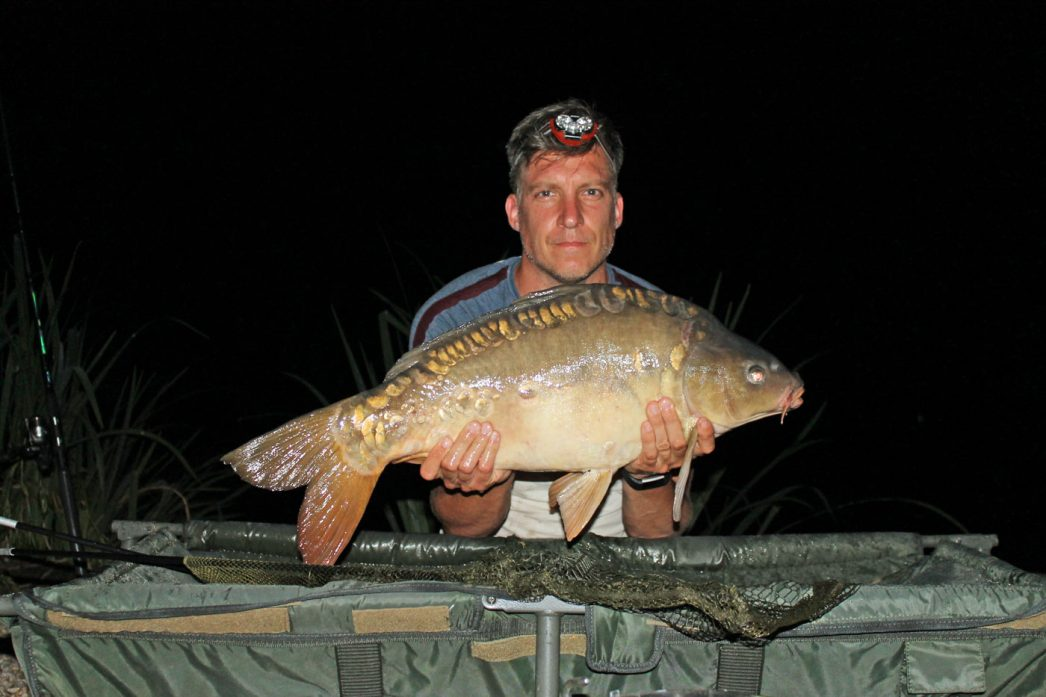 Jon with Bubbles at 22lbs