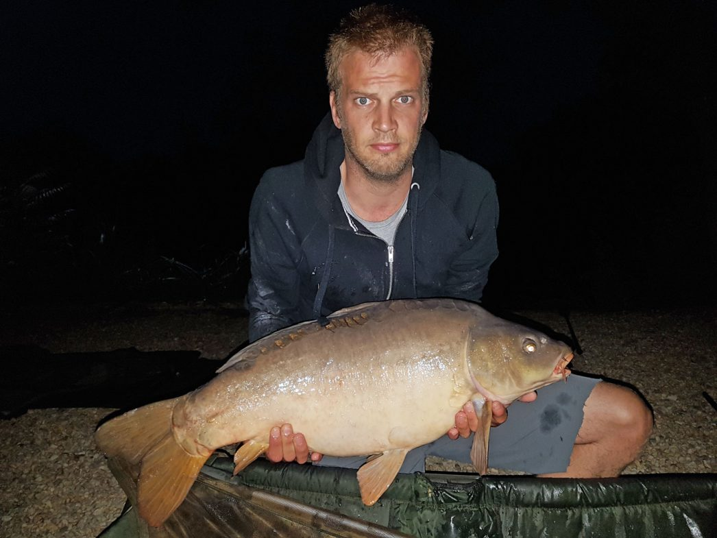 Mark with Small Scale at 23lbs 8oz