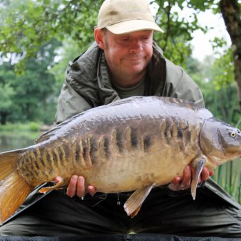Rob with April at 21lbs