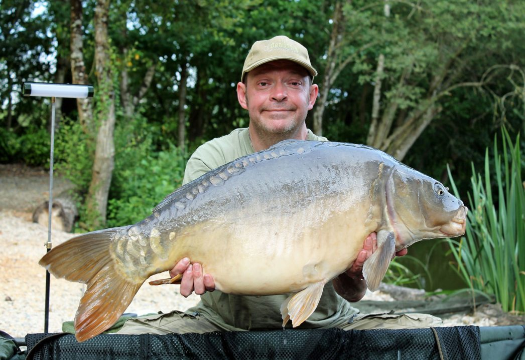 Rob with Beth at 31lbs 4oz