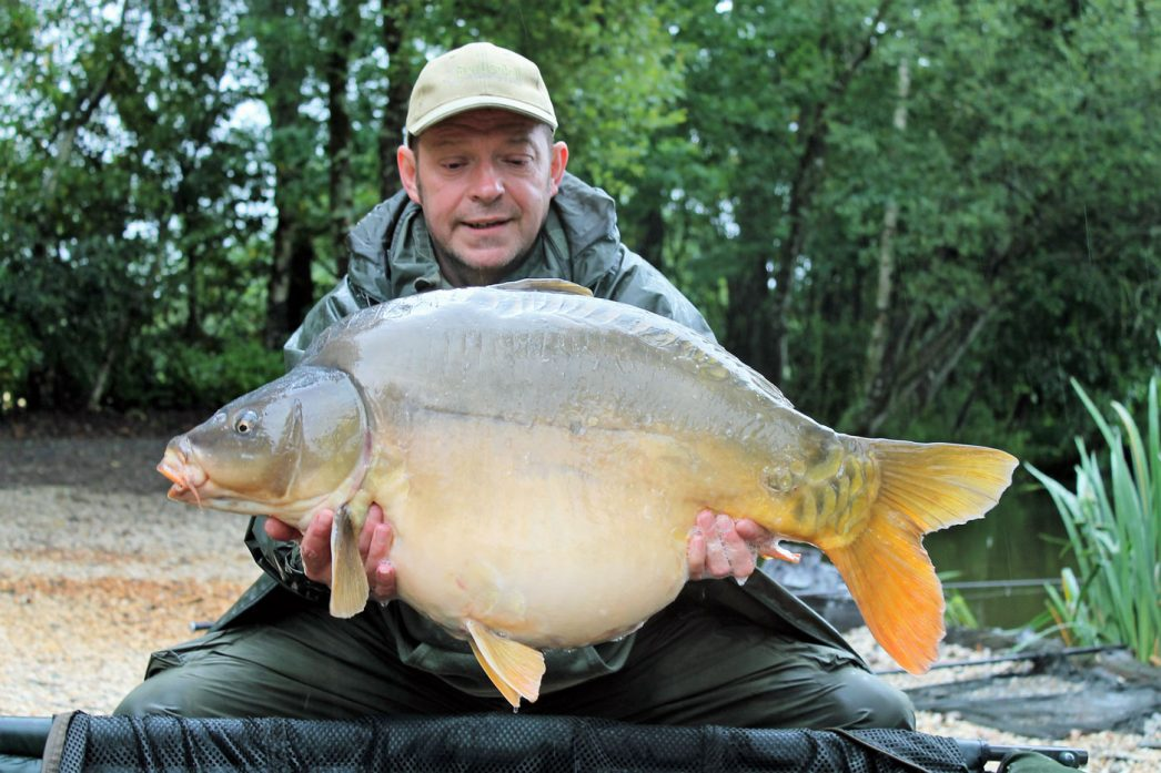 Rob with Galaxy at 32lbs
