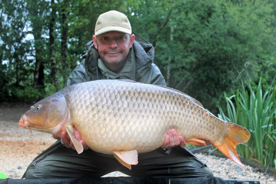 Rob with a 32lbs common