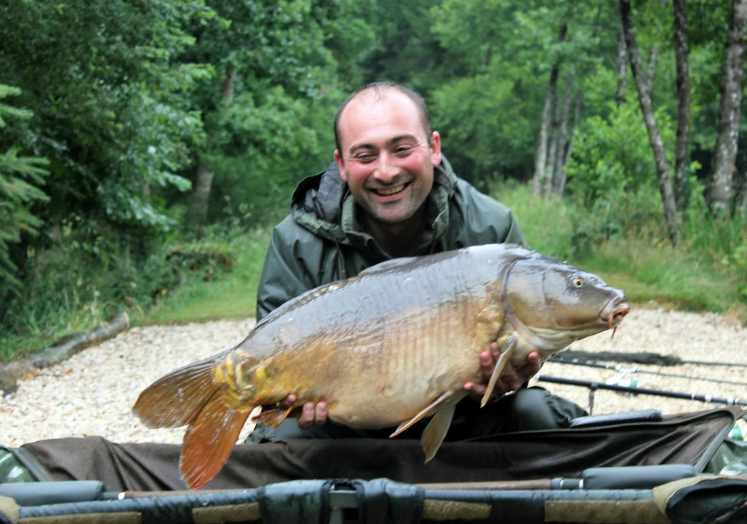 Simon with Moonscale at 31lbs 12oz